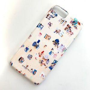GRAY MALIN beach print iPhone case 6/6s/7/8/SE